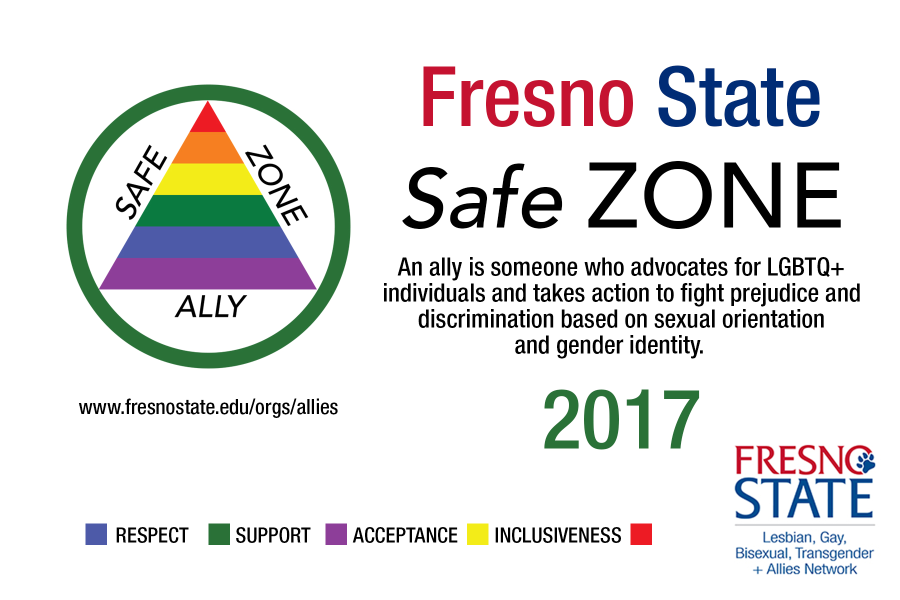 Safe Zone card